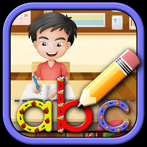 孩子学会写字母数字和文字