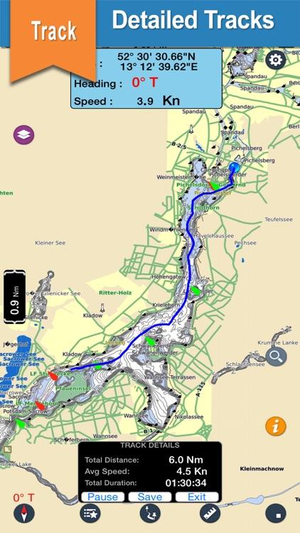 Duck & Huntersville offline for lake & park trails