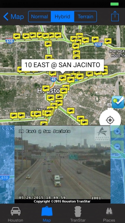 I-10 Road Conditions and Traffic Cameras Pro screenshot-2