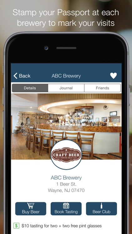 Brewery Passport - Craft Beer Finder