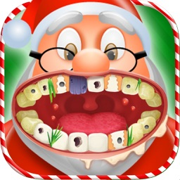 Christmas Teeth Dentist : Little Dentist Xmas game