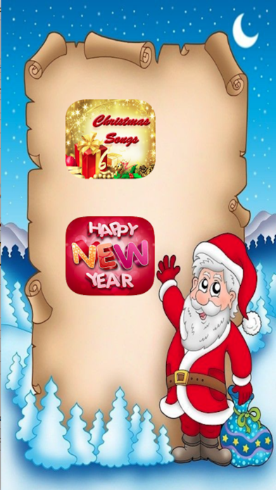 Xmas Holidays and NewYear Eve Celebrating Songs screenshot one