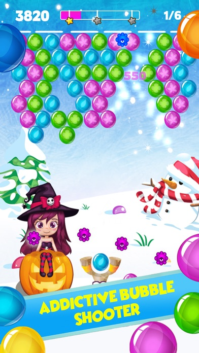Frozen Bubble Shooter screenshot one