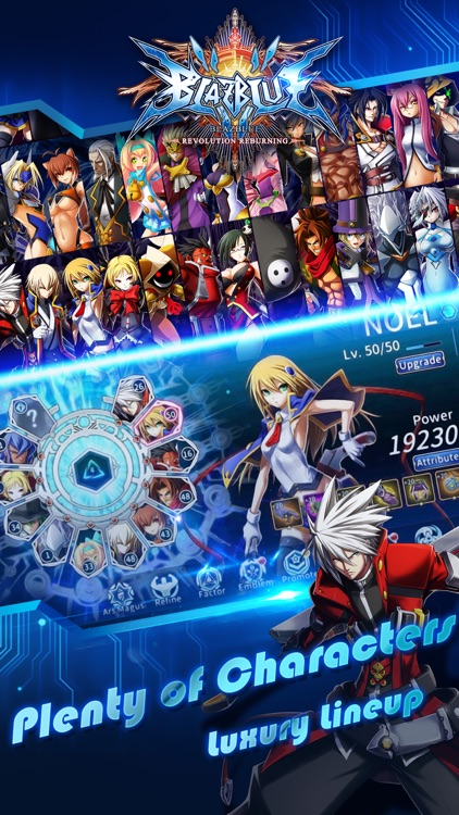 BlazBlue RR - the Real Action Game screenshot-0