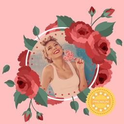 Rose Photo Frames: Flower Photo Frame Editor PRO