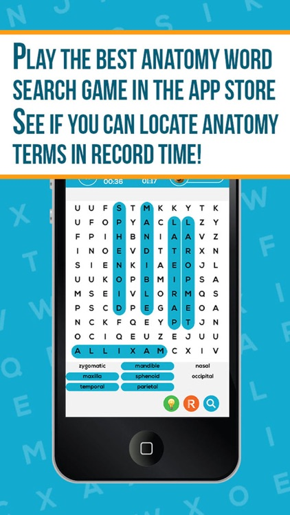 Anatomy Word Search Pro screenshot-0