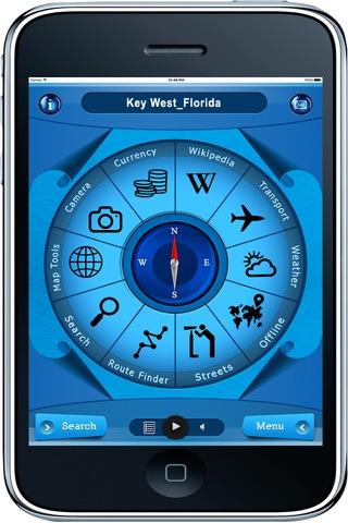 Key West Florida - Offline Travel Maps Navigation - náhled