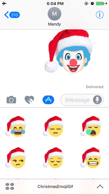 Christmas Emoji Sticker - Free Emojis for iMessage