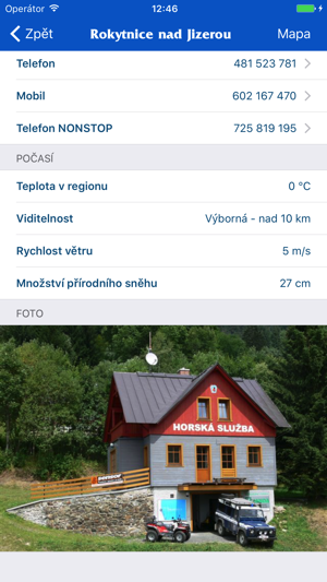 Horská služba Screenshot