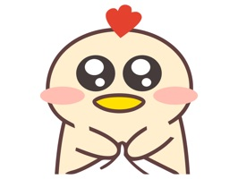 Baby Chicken Animated Emoji Stickers