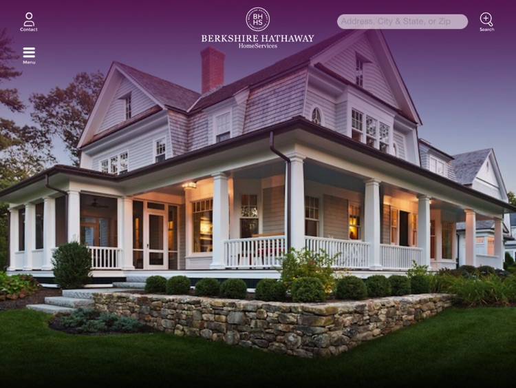 Berkshire Hathaway HomeServices Home Search App