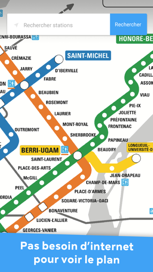 Montreal Subway Map Pdf.Metro Montreal Stm Offline On The App Store