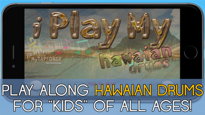 i Play My Hawaian Drums Fun screenshot one