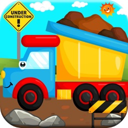 Big Trucks! Dump Truck & Crane Games for Kids Free