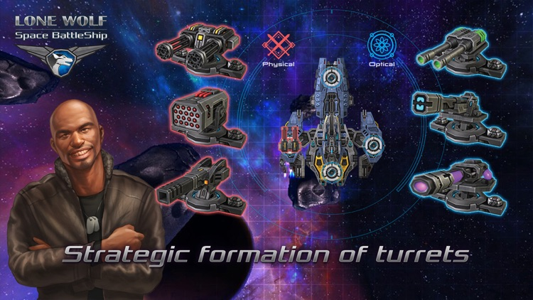 Battleship Lonewolf - Space TD screenshot-2