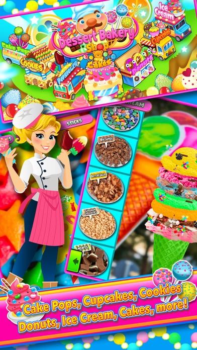 Candy Dessert Bakery Shop Make & Cook screenshot two