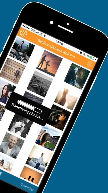 Back up Assistant for Camera Roll Photos & Movies