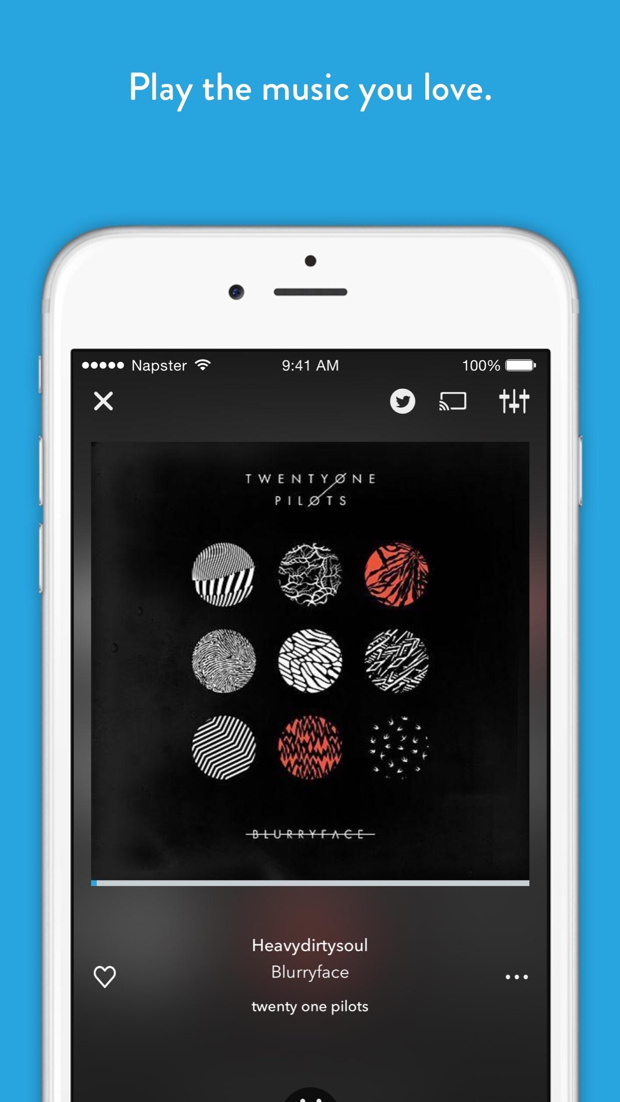 Napster - Top Music & Radio Screenshot