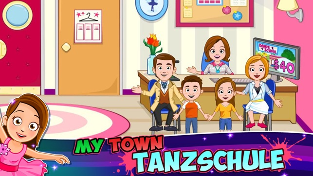 My Town : Dance School Screenshot
