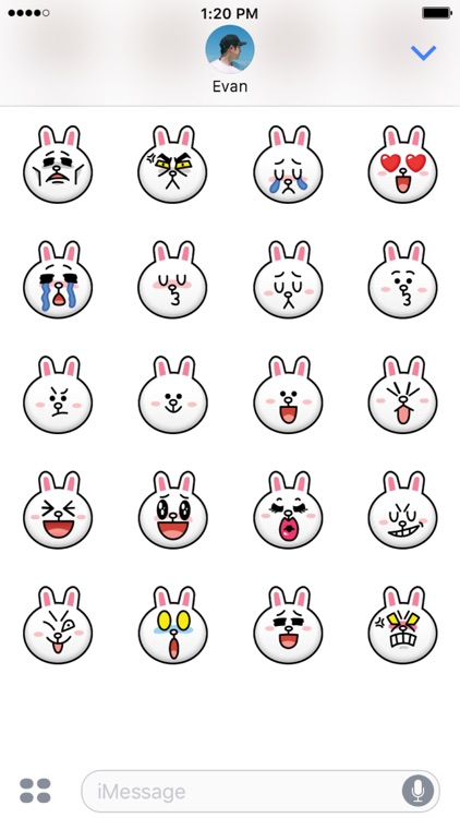 BROWN & CONY Emoji Stickers - LINE FRIENDS screenshot-4