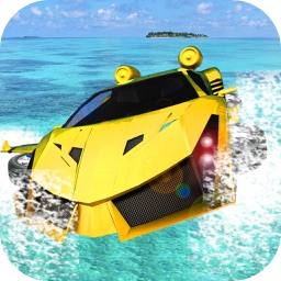 Water Surfing Car Racer