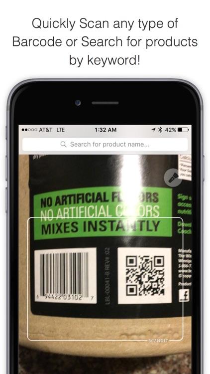Bakodo - Barcode Scanner and QR Bar Code Reader screenshot-0