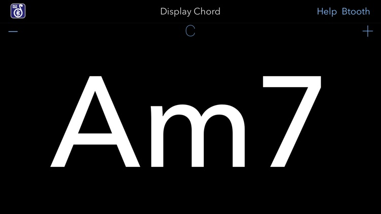 Midi Chords Display