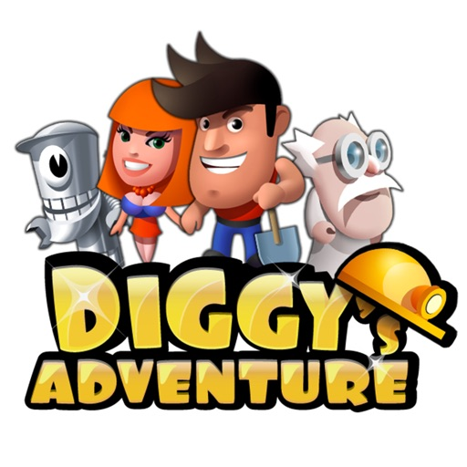 Diggy's Adventure Stickers