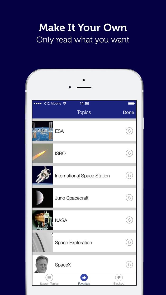 Space, NASA & Astronomy News Screenshot