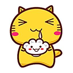 Animated Bubbly Cat