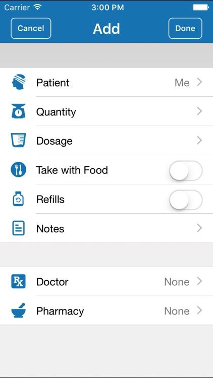 DrugHub: Medicine cabinet in your pocket screenshot-3
