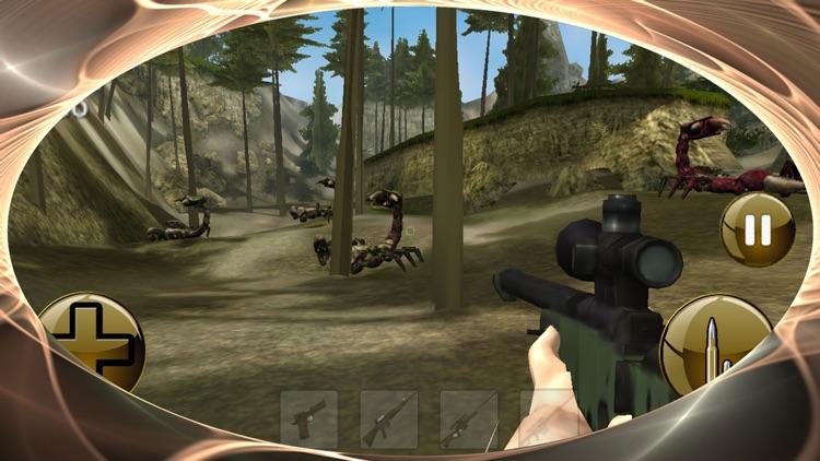 Scorpion King Hunter - Black Fighter Blast 3D Max screenshot-3