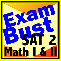 SAT 2 Math Levels I-II Prep Flashcards Exambusters