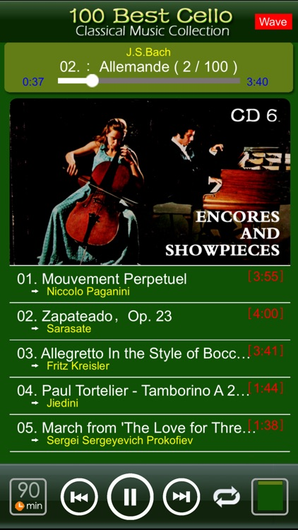 Classic Cello [100 Classical music] screenshot-3