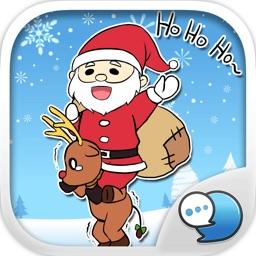 Christmas Emoji Stickers Keyboard Themes ChatStick