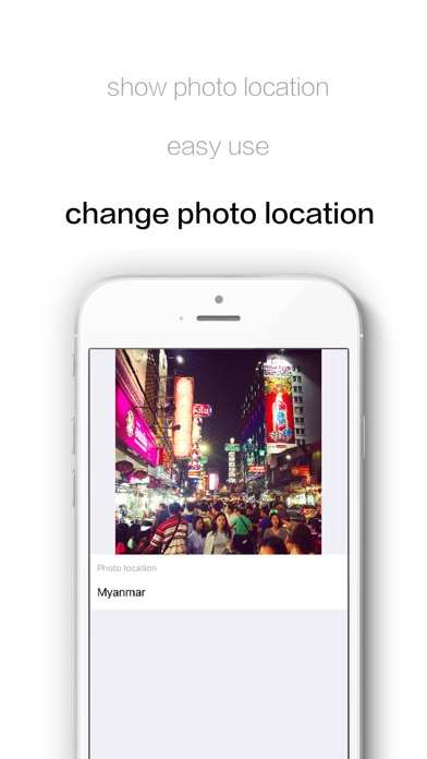 FakeLocation-Change photo location Screenshot on iOS
