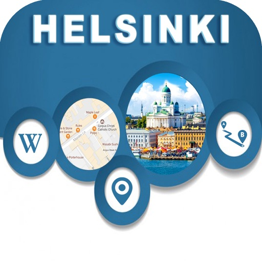 Helsinki Finland Offline City Maps Navigation