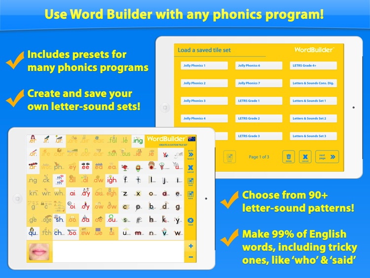 Word Builder - The Phonics Teaching Tool screenshot-3