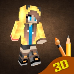 3D Girl Skin Editor For Minecraft PE+PC