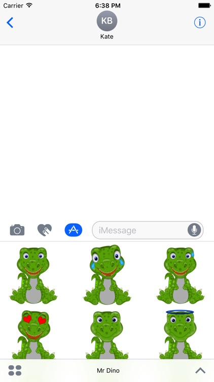 Mr Dino - Funny Stickers screenshot-1