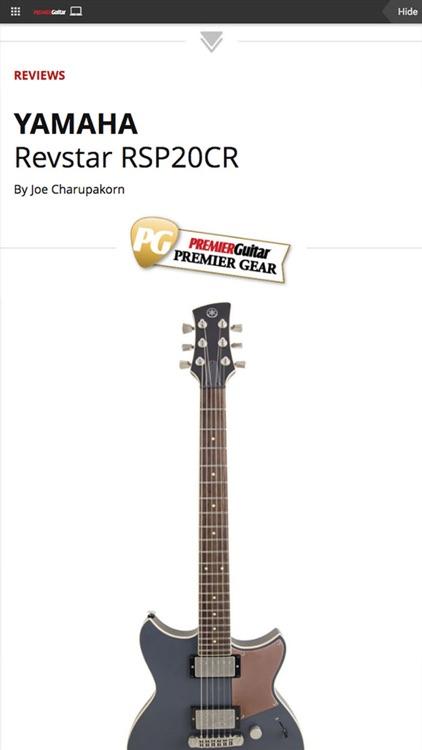 Premier Guitar Magazine screenshot-4