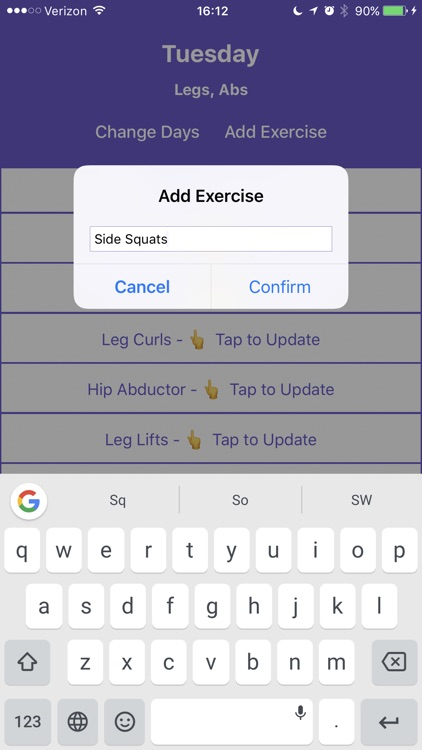Gains | Offline Weight Lifting Tracker screenshot-3