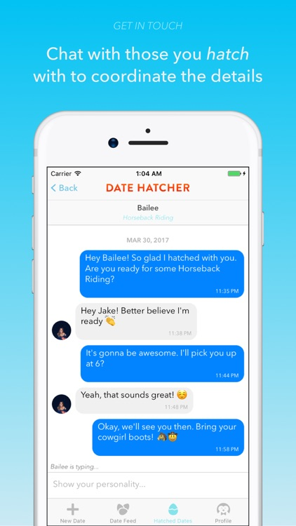Date Hatcher - The Dating App for Real Dates screenshot-4