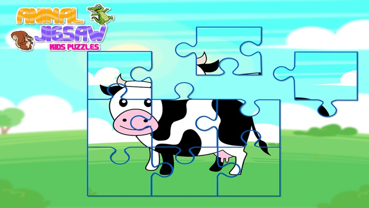 Animal Jigsaw Kids Puzzle Pro