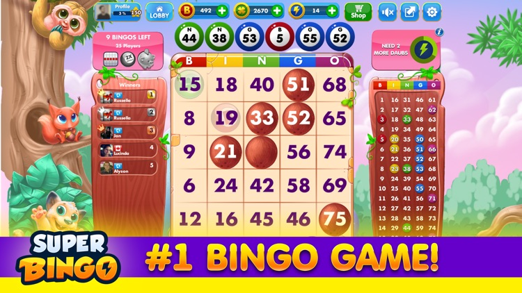 Super Bingo HD™ screenshot-3