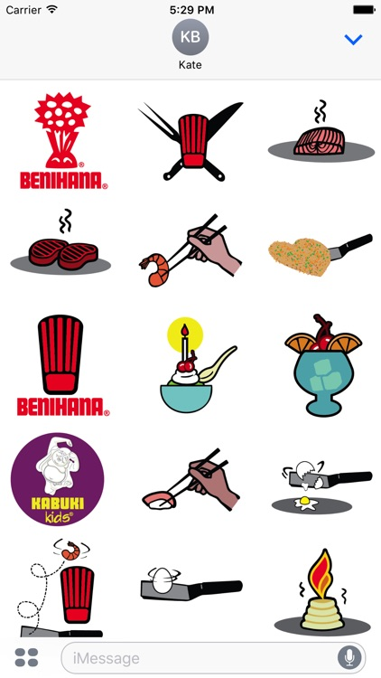 Benihana Sticker Pack