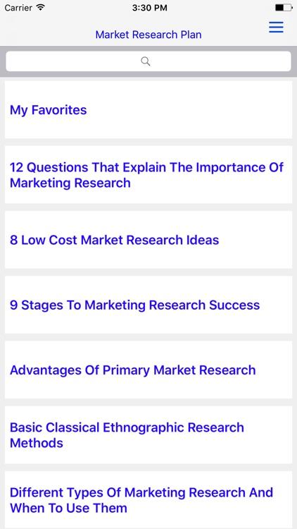 MRP  - Market Research Plan & Brilliant MRP screenshot-4