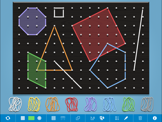 Geoboard, by The Math Learning Center screenshot