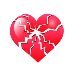 Broken Heart Sticker Pack