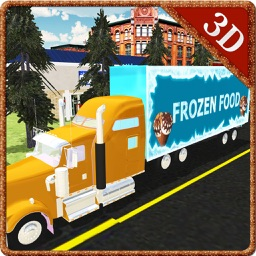 Frozen Food Truck Simulator & Delivery Simulator